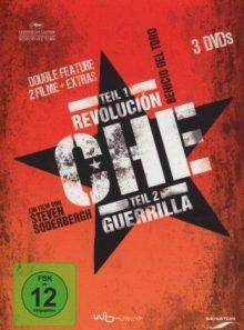 Dvd * che - teil 1: revolución teil 2: guerrilla [import allemand] (import) (coffret de 3 dvd)