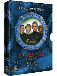 Stargate sg-1 - saison 6 - coffret 6a - pack