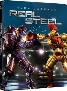 Real steel - steelbook edition limitée exclusive zavvi