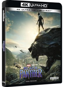 Black panther - coffret + 4k - marvel [blu-ray]