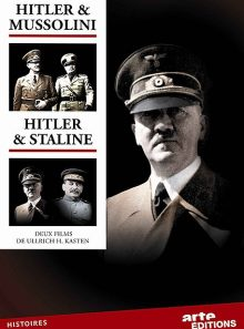 Hitler & mussolini / hitler & staline