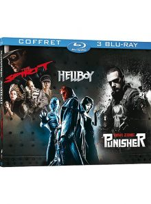 The spirit + hellboy + the punisher, zone de guerre - pack - blu-ray