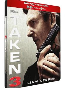 Taken 3 - combo blu-ray + dvd - édition limitée boîtier steelbook