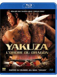 Yakuza, l'ordre du dragon - blu-ray