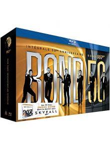 James bond 007 - bond 50 : intégrale 50ème anniversaire des 23 films - édition limitée - blu-ray
