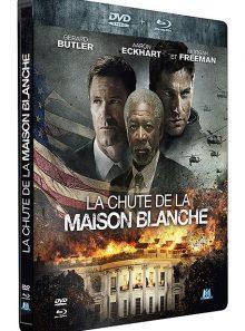 La chute de la maison blanche - combo blu-ray + dvd - édition boîtier steelbook