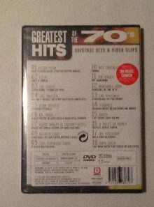 Greatest hits of the 70 s video s