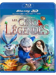 Les cinq légendes - combo blu-ray 3d + blu-ray + dvd + copie digitale