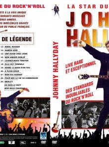 Johnny hallyday - la star du rock'n'roll - dvd
