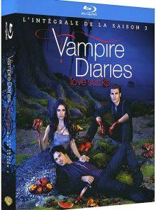 Vampire diaries - l'intégrale de la saison 3 - blu-ray