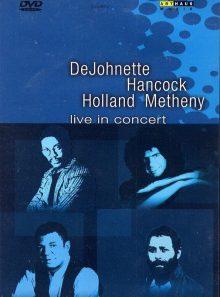 Dejohnette hancock holland metheny - live in concert
