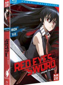 Red eyes sword - akame ga kill ! - box 1/2 - blu-ray