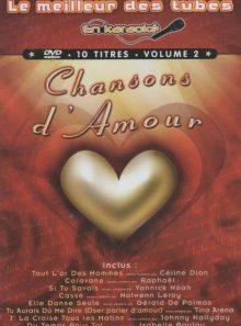 Meilleur des tubes en karaoké : chansons d'amour - vol. 2