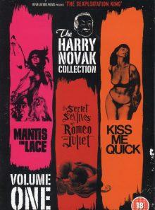The harry novak collection-vol 1- mantis in lace - the secret sex lives of roméo and juliet - kiss me quick