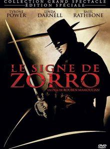 Le signe de zorro - édition collector blu-ray + dvd + livre