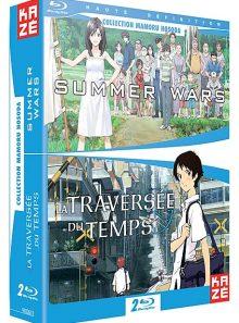 Summer wars + la traversée du temps - pack - blu-ray