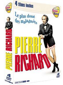 Pierre richard : le plus doué des maladroits - coffret 4 films
