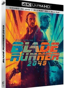 Blade runner 2049 - 4k ultra hd + blu-ray 3d + blu-ray + digital ultraviolet