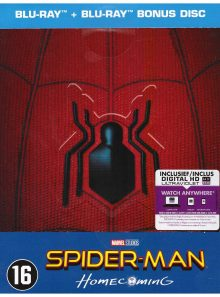 Spider man - homecoming steelbook + magnet [blu ray]