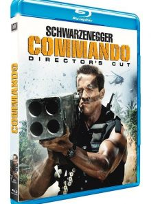 Commando - director's cut - blu-ray