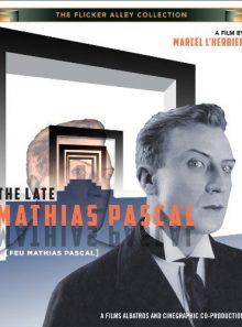 The late mathias pascal (feu mathias pascal) - film muet