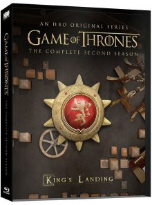 Game of thrones (le trône de fer) - saison 2 - édition collector boîtier steelbook + magnet - blu-ray