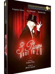 3 places pour le 26 - édition digibook collector blu-ray + dvd