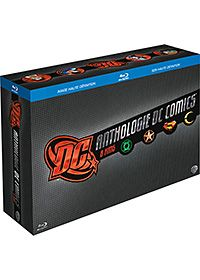 Dc comics anthologie - les films - 8 blu-ray