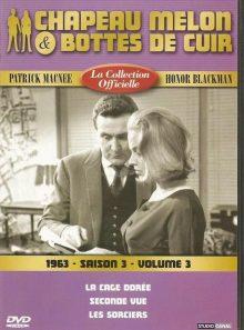 Chapeau melon et bottes de cuir la collection officielle 1963 saison 3 volume 3