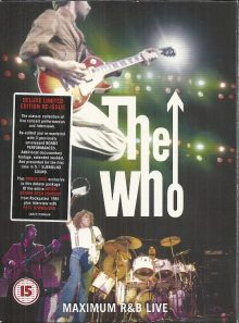 The who maximum r&b live deluxe limited edition