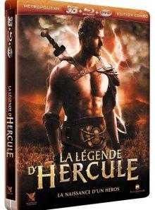 La légende d'hercule - combo blu-ray 3d + blu-ray + dvd - édition boîtier steelbook