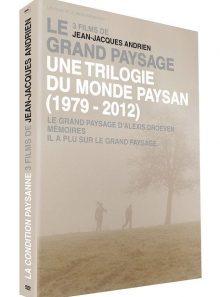 Grand paysage : une trilogie du monde paysan (1979 - 2012) - 3 films de jean-jacques andrien - dvd + livre