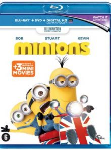 Les minions - combo blu-ray 2d + dvd + copie digitale (edition benelux)