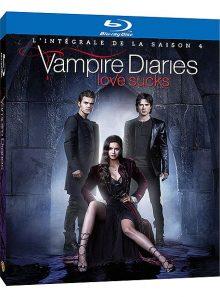Vampire diaries - l'intégrale de la saison 4 - blu-ray