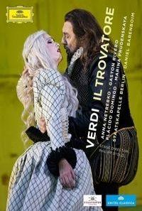 Verdi: il trovatore: anna netrebko / gaston rivero / placido domingo (blu-ray)