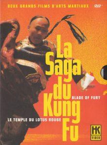 La saga du kung fu : blade of fury + le temple du lotus rouge - pack