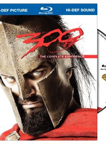 300 (the complete experience blu ray book packaging + bd live)