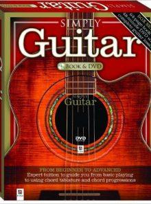 Simply guitar (paperback book w/ dvd)