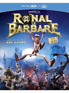 Ronal le barbare - combo blu-ray 3d + dvd