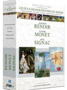 Les plus grands peintres du monde : renoir + monet + signac - pack