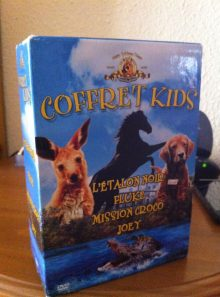 Coffret kids : l'étalon noir + fluke + mission croco + joey