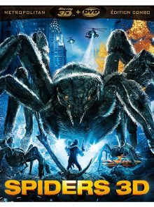 Spiders - combo blu-ray 3d + dvd