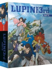 Lupin the 3rd - part 4 : l'aventure italienne - édition collector - blu-ray