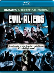 Evil aliens (unrated & theatrical edition) [blu ray]