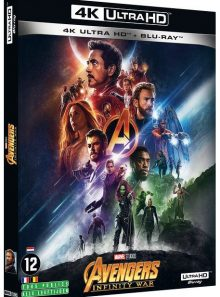 Avengers : infinity war - 4k ultra hd + blu-ray