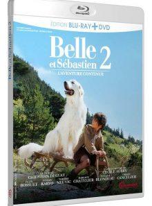Belle et sébastien 2 : l'aventure continue - combo blu-ray + dvd