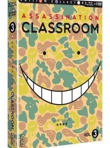 Assassination classroom - box 3 - combo collector blu-ray + dvd