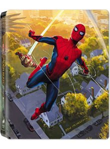 Spider-man : homecoming - édition limitée boîtier steelbook - blu-ray 3d + blu-ray + digital ultraviolet