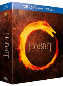 Le hobbit - la trilogie - combo blu-ray + dvd + copie digitale