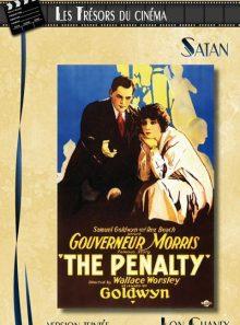 Les trésors du cinéma : lon chaney - satan (the penalty) - version teintée